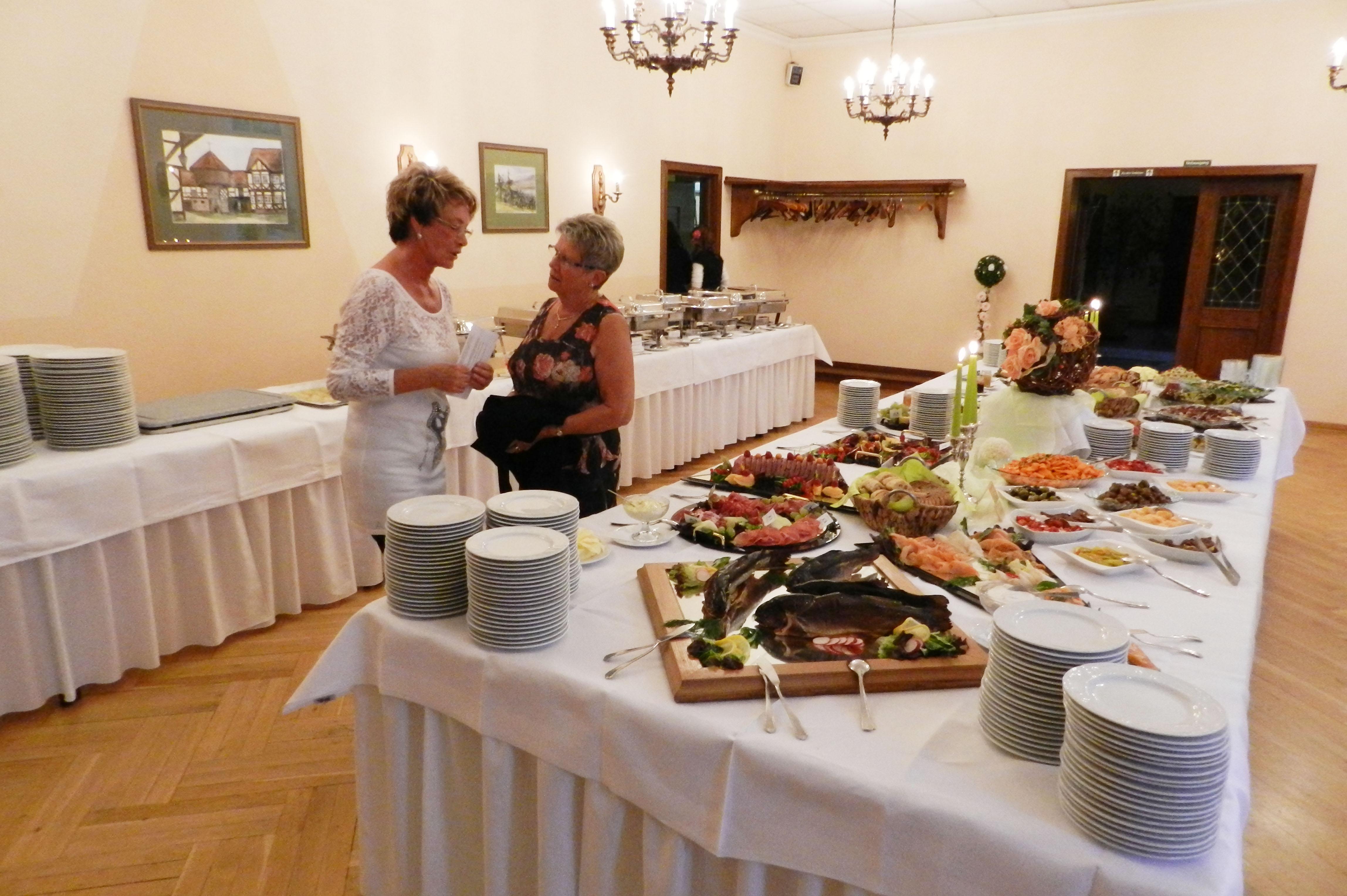 Leckere Buffets im Restaurant in Osterwieck