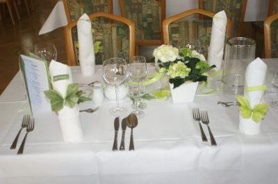 Feierlichkeiten im Waldhaus Hotel & Restaurant in Osterwieck
