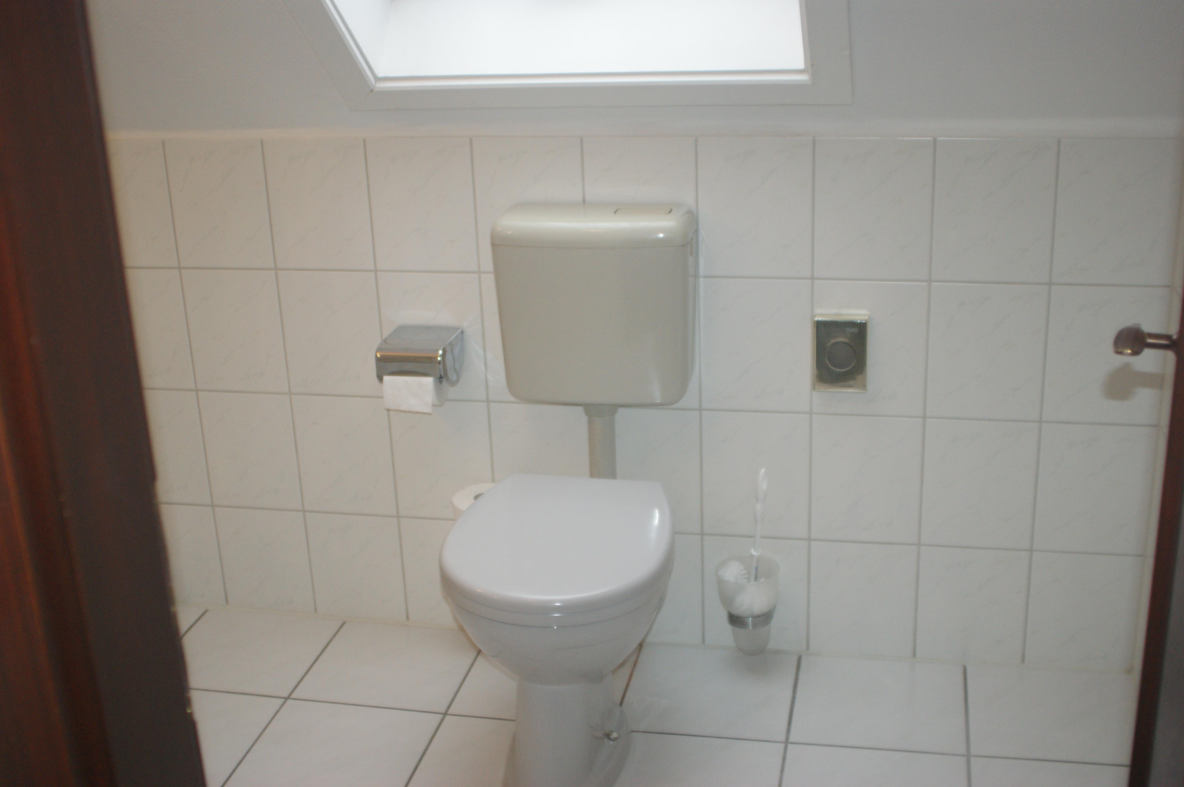 Gepflegte Badezimmer im Waldhaus in Osterwieck