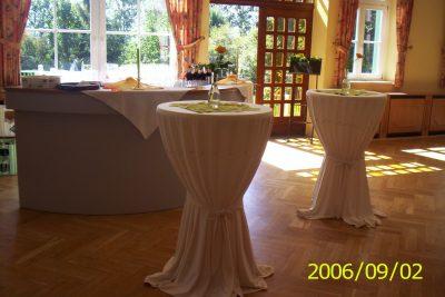 Sektempfang im Waldhaus Hotel & Restaurant