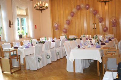Hochzeiten im Waldhaus Hotel & Restaurant