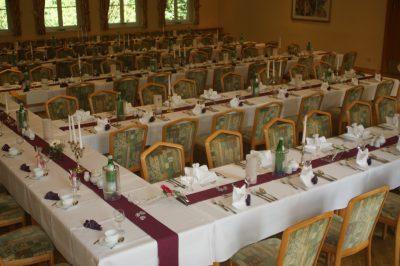 Große Feierlichkeiten im Waldhaus Hotel & Restaurant