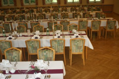 Große Feierlichkeiten für bis zu 200 Gästen in Osterwieck