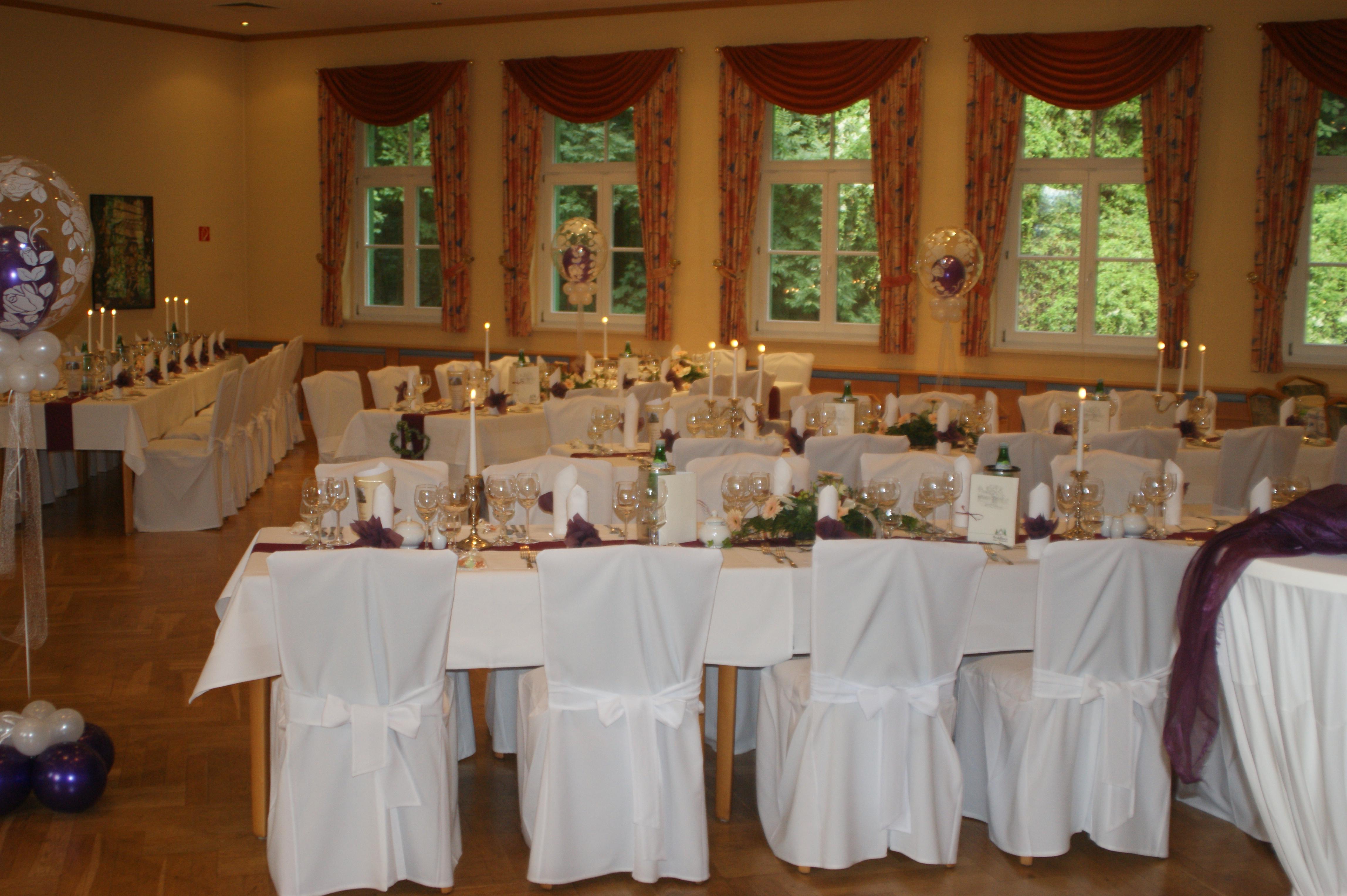Feierlichkeiten im Waldhaus Hotel & Restaurant