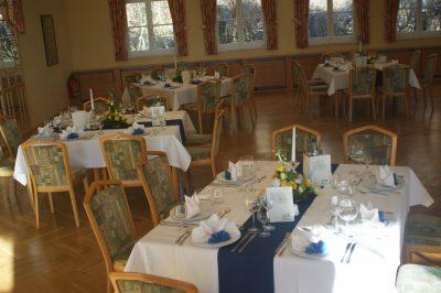 Das Restaurant des Waldhaus in Osterwieck